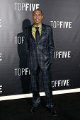 NEW YORK-DEC 3: Singer Freddie Jackson attends the