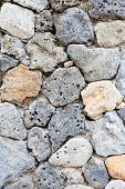 Wall Made With Natural Stones