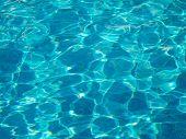 Shining Blue Water Ripple