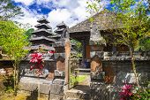 traditional Balinese temple