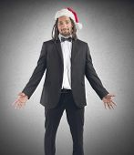Happy Xmas Businessman
