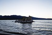 Tufa Formation Mono Lake California Mountain Background