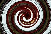 Greens Reds White Swirling Circles Abstract Background
