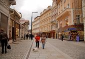 Karlovy Vary, The Most Famous Spa Town Of The Czech Republic.