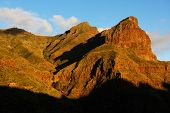 Sunset light over Teide National Park, Tenerife, Canary Islands, Spain