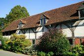 Alte englische mittelalterlichen Fachwerkhaus