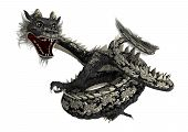 Black Eastern Dragon