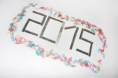 Happy New 2015 Year With Staples
