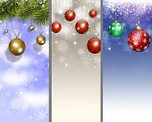 Holiday Xmas Banners
