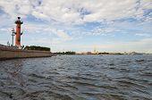 View Of Saint-petersburg From Neva River
