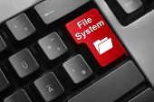 Keyboard Red Button File System