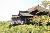 Tourists Visit Kiyomizu-dera Temple In Kyoto