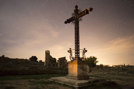 pic of tribute  - Tribute to the people who died in Belchite at the spanish civil war in 1937 - JPG