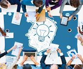 picture of creativity  - Idea Creative Creativity Imagination Innovate Thinking Concept - JPG