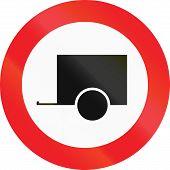 picture of motor vehicles  - Austrian regulatory sign  - JPG