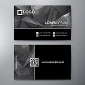 stock photo of business class  - Modern Business card Design Template - JPG
