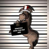 Demócrata - detenido