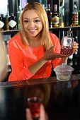 stock photo of bartender  - Best beverage - JPG