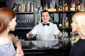 picture of bartender  - Coffee please - JPG
