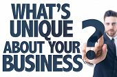 picture of uniqueness  - Business man pointing - JPG