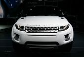 Range Rover Evoque At Paris Motor Show
