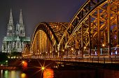 Cologne night view