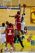 HEIDELBERG, Germany - November 16: Basketball - USC Heidelberg vs. Bayern M�?�¼nchen, November 16