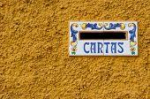 Spanish Mail Slot