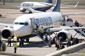 VALENCIA, SPAIN - MAY 18: Ryanair says that it will reimburse expenses for passengers stranded durin