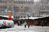 VIENNA, AUSTRIA-DEC 03: Store detectives at Christmas Markets in Austria are being disguised as the
