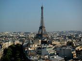 France Paris View Of Eiffel Tower