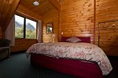 Fox Glacier Lodge Bedroom Interior