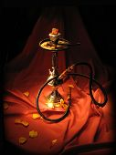 Hookah In The Dark