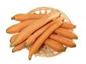 Carrot in the punnet