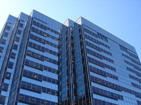foto of building exterior  - glass office building - JPG