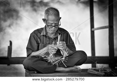 Asia Life Old Man Uncle