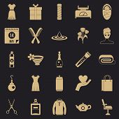Recreation Icons Set. Simple Set Of 25 Recreation Vector Icons For Web For Any Design poster