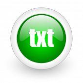 botão de web de txt