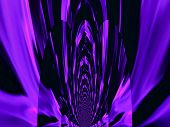 Purple fire abstract