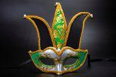Carnival mask: Carnival, national holiday in Brazil poster