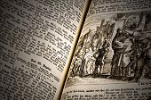 Very Old German Bible
