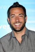 LOS ANGELES - JAN 6:  Zachary Levi arrives at the NBC Universal All-Star Winter TCA Party at The Athenauem on January 6, 2012 in Pasadena, CA