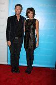 LOS ANGELES - JAN 6:  Harry Hamlin, Lisa Rinna arrives at the NBC Universal All-Star Winter TCA Party at The Athenauem on January 6, 2012 in Pasadena, CA