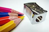 Color Pencil And Cutter