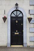 British Entrance Door