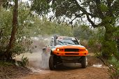 Portalegre, Portugal - November 3: Boris Gadasin Drives A G-force Proto In Baja 500, Integrated On F