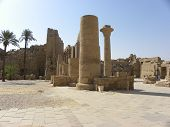 Historic Karnak Temple Ruins Egypt Thebes