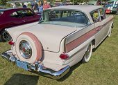 1959 Pink Rambler Rear View