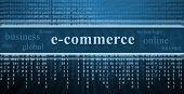 E-commerce Concept, Technology Background