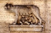 Romulus And Remus Carving